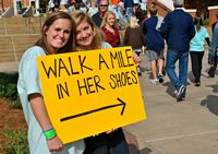 Walk in her shoes charity