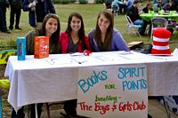 Boy ans Girls Club booth