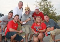 BSU Tailgaters with Drozda