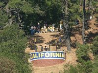 cal has this cannon on the overlook booming for scores