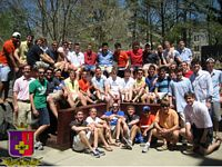 40 Sig Eps pose in the sun