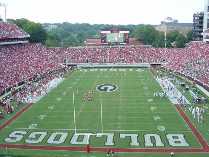 Uga Is Expanding Renovating The West Endzone Of Sanford