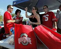 young alumni tailgaters